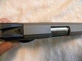 Colt 1911 Custom Combat Commander 45 match. stainless steel. - 11 of 20