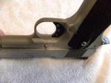 Colt 1911 Custom Combat Commander 45 match. stainless steel. - 10 of 20