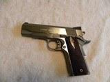 Colt 1911 Custom Combat Commander 45 match. stainless steel. - 2 of 20