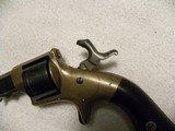 Engraved presentation Civil War Prescott model 186032 rimfire revolver. - 19 of 20