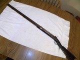 J Henry & Son of Phila. 1860 halfstock precussion rifle 40 cal. Rare Naval model heavy barrel w/anchor stamp