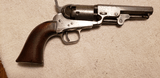 Rare Colt Pocket model 1849 31 cal. 5 shot revolver with iron trigger guard and grip straps. All 7 numbers match.