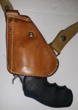 Rare Smith & Wesson DAO Model 36 In Perfect Condition in Box plus Steel Spring Upside Down Holster