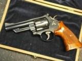Smith & Wesson 57 No Dash 41 Magnum Mahogany Box