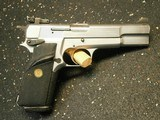 Browning Hi-Power Silver Chrome