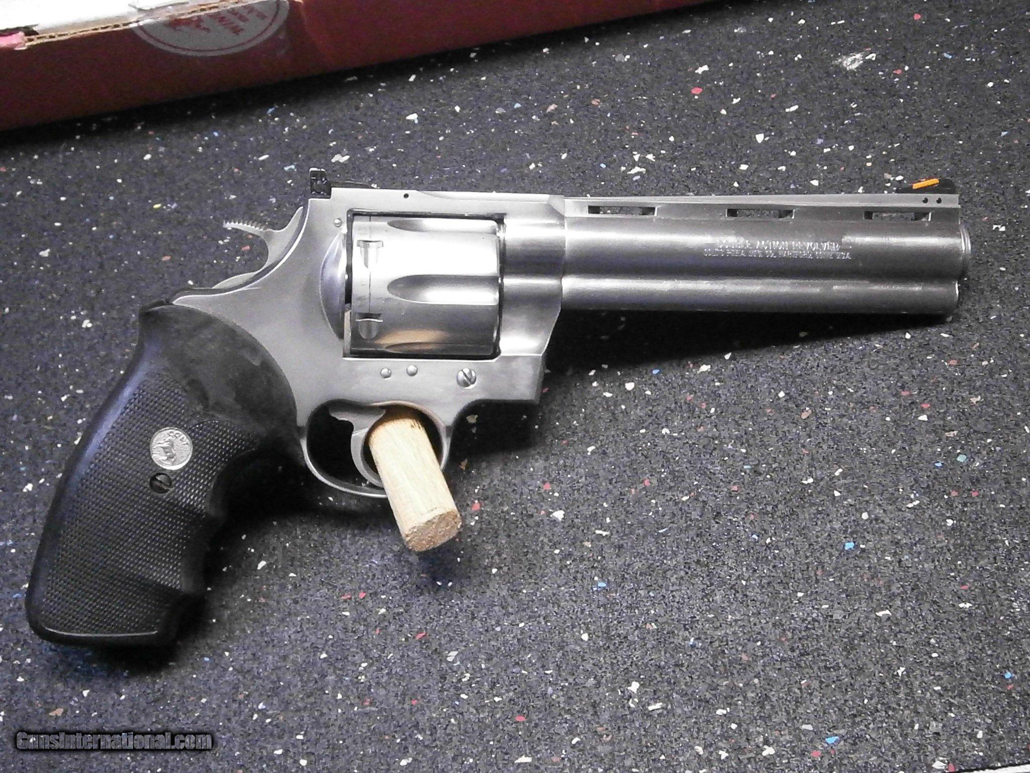 Colt Anaconda 6 inch SS