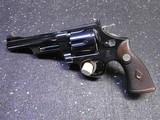 Smith and Wesson REGISTERED MAGNUM FBI Gun 357 Magnum