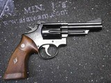 Smith and Wesson Combat Magnum (Pre model 19)