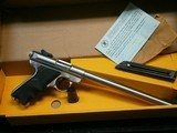 Ruger Mark II Stainless 10 Inch Bull Barrel in Box