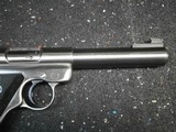 Ruger MKII Stainless Steel 5 1/2 inch Bull Barrel - 9 of 11