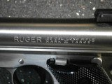 Ruger MKII Stainless Steel 5 1/2 inch Bull Barrel - 5 of 11