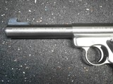 Ruger MKII Stainless Steel 5 1/2 inch Bull Barrel - 7 of 11