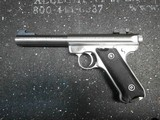 Ruger MKII Stainless Steel 5 1/2 inch Bull Barrel - 2 of 11