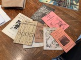 Vintage Trapping Instruction Booklets