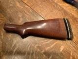 Winchester Model 12 Buttstock