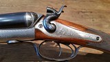 Boss & Co. of London, exceptional hammer gun in 12 gauge