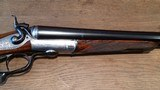 Boss & Co. of London, exceptional hammer gun in 12 gauge - 7 of 15