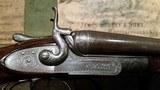 james purdey & sons 16 gauge antique bar in wood hammergun in proof