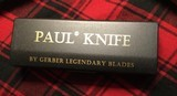 Gerber Paul knife in box