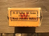 Winchester grooved metal patched bullets 32cal - 2 of 4