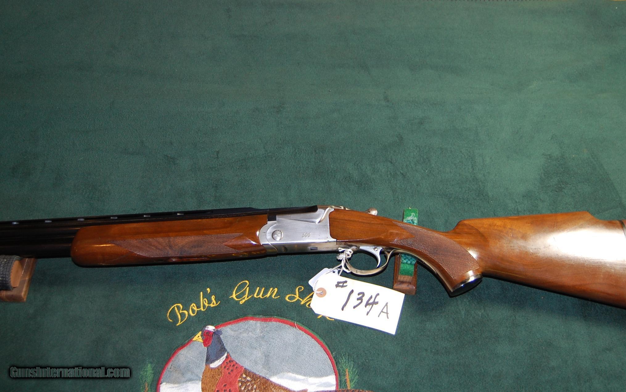 Skb shotguns model 505