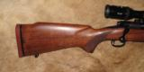 "Winchester Model 70 Pre 64 375HH Mag 25"" barrel - 2 of 13"