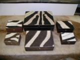 Zebra boxes handcrafted in South Africa - 1 of 12