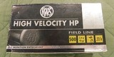 RWS high velocity HP 22 lr