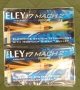 Eley 17 mach 2 ammo