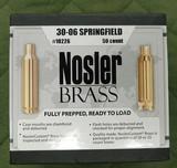 Nosler 30-06 brass