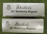Weatherby 257 weatherby brass - 1 of 1
