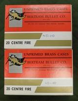Bertram bullet co 45-110 brass