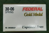 Federal 30-06 gold medal brass - 1 of 1