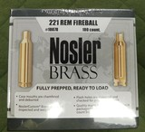 Nosler 221 fireball brass - 1 of 1