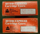 Bell nitro express 50- 3 1/4 sharps brass - 1 of 2