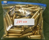 winchester 284 win brass - 1 of 1