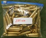 winchester 284 win brass