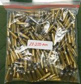 Remington 22-250 rem brass