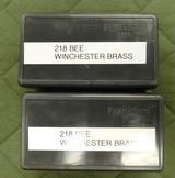 winchester 218 bee brass