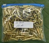 new factory 22 hornet brass