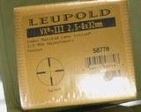 Leupold VX-III2.5 x 8 32mm EER