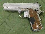 Sig Sauer 1911 45 acp w/laser
