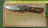 William Henry fine knives model T-08 2E2