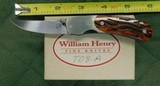 William Henry fine knives T08-A