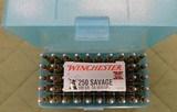 Winchester 250 savage 100gr silvertip ammo
