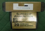 Superior 475 no2 jeffery, .488 ammo