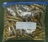 new 243 winchester brass