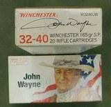 Winchester john wayne 32-40 ammo