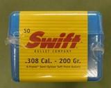 Swift a-frame 30 cal 200 gr