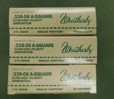 Weatherby 338-06 210 gr partition